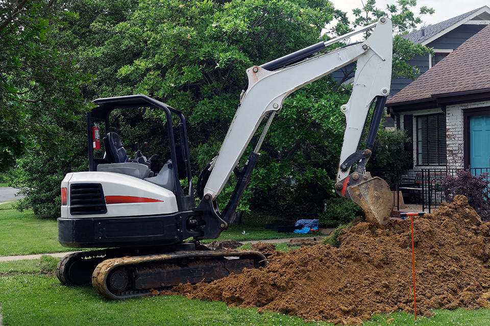 Professional Excavation Services in Lexington, Kentucky (KY) like Digging Holes for Residential and Home Masonry Projects