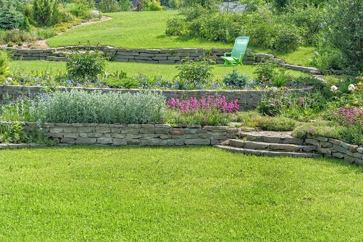 How a Retaining Wall Can Transform Yards Near Lexington, Kentucky (KY) for Structural Support & TerracingPicture